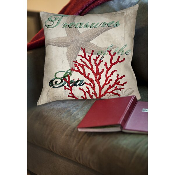 Concetta Printed Throw Pillow by Highland Dunes