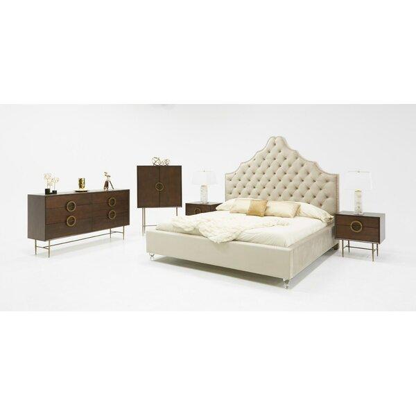 Sandra Platform Configurable Bedroom Set by VIG Furniture