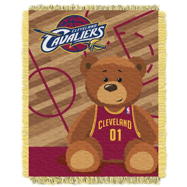 NBA Cavaliers Half Court Baby Throw by Northwest Co.