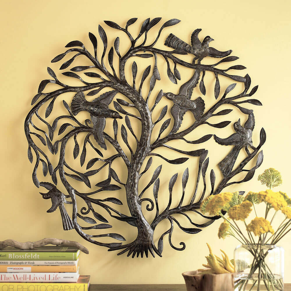 VivaTerra Recycled Metal Tree of Life Wall Décor | Wayfair