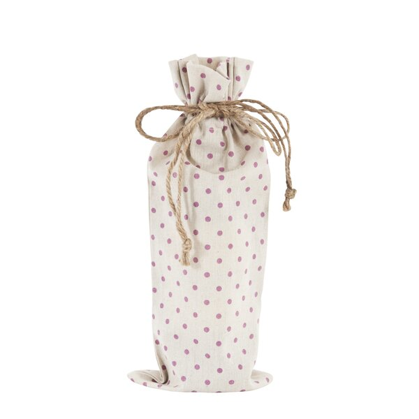 Dotted Bottle Bag (Set of 6) by Saro