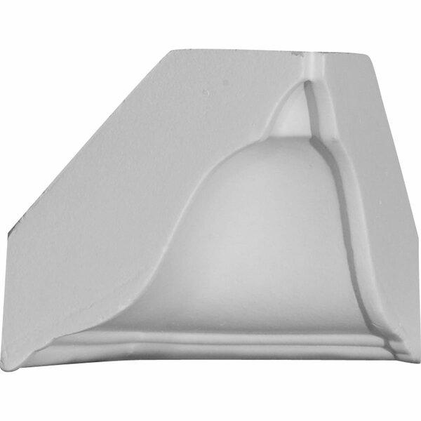 3 5/8H x 3 5/8D Inside Corner for Moulding Profiles by Ekena Millwork