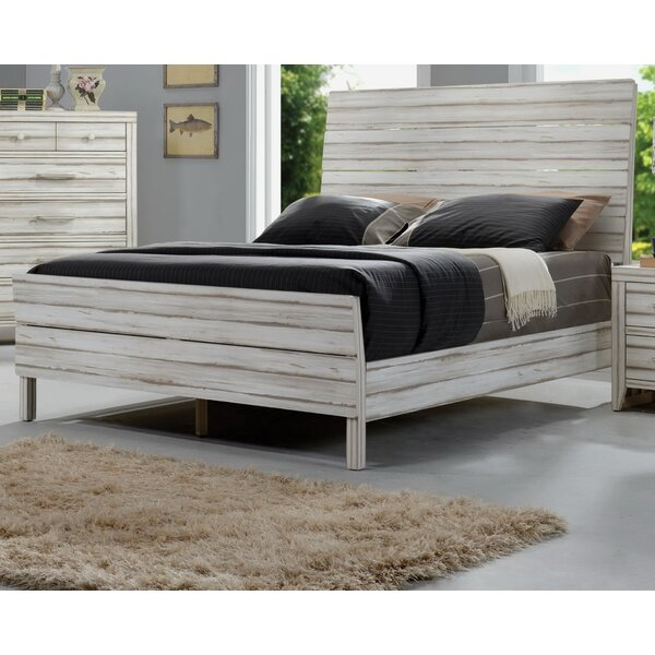 Gent Upholstered Panel Bed by Highland Dunes