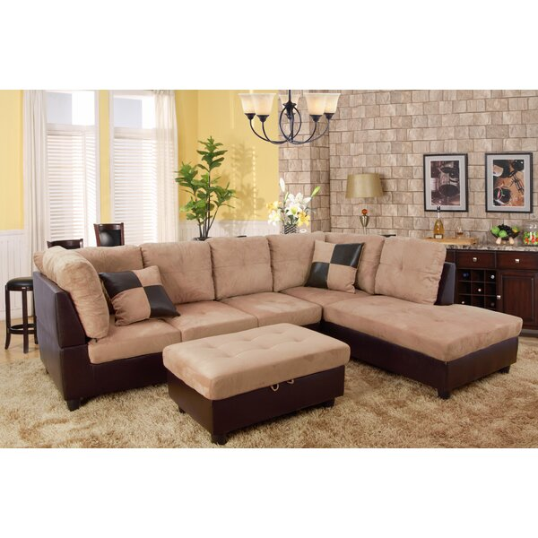 Latest Trends Plumlee Sectional with Ottoman by Winston Porter by Winston Porter