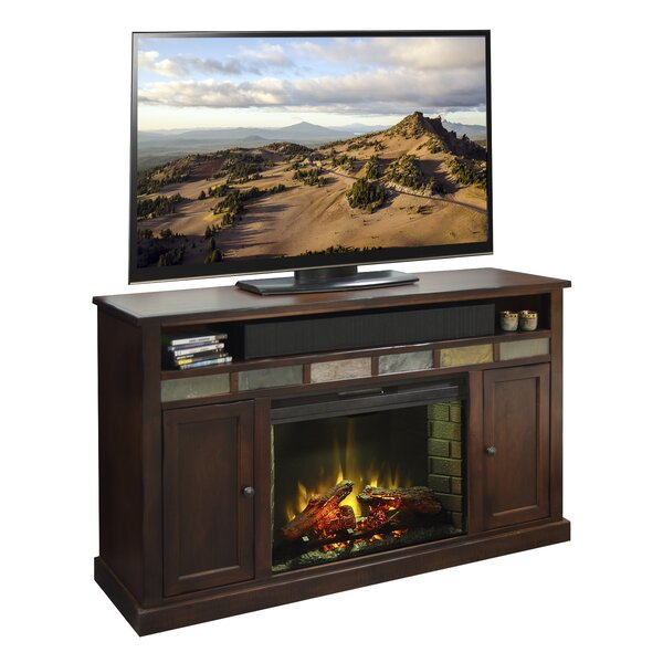Fire Creek 62 TV Stand with Fireplace by Legends Furniture