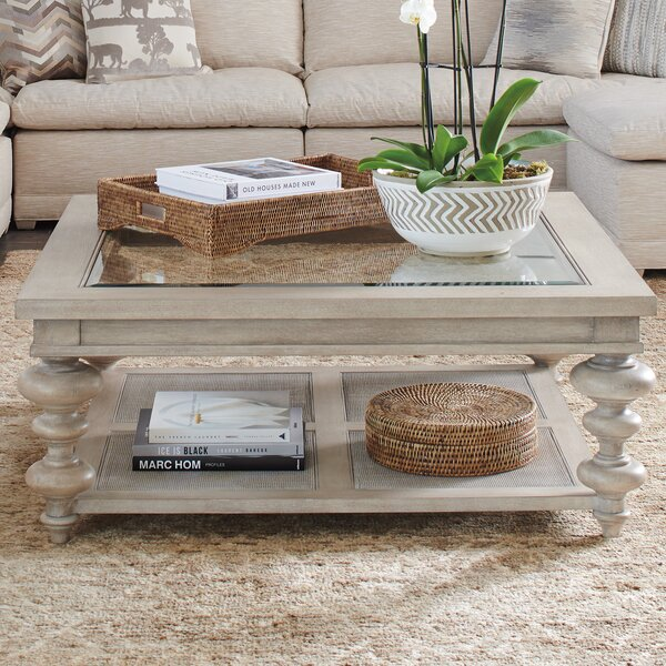 Malibu Coffee Table By Barclay Butera