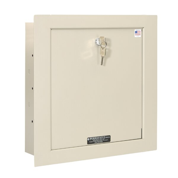 Key Lock Commercial Wall Safe .47 CuFt by Perma-Vault