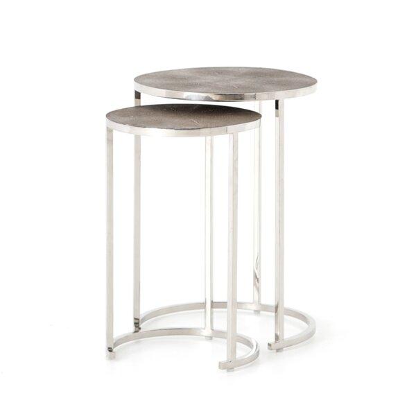 Selig 2 Piece Nesting Tables by Brayden Studio