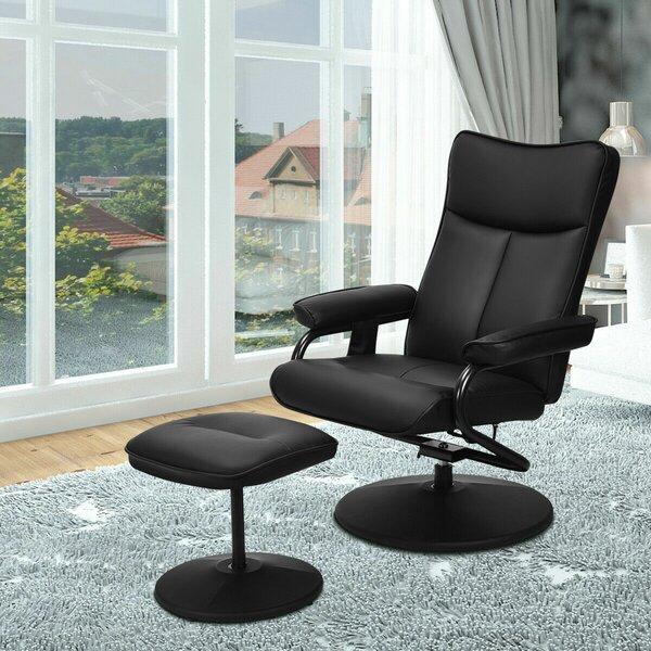 Best Reclining Adjustable Width Massage Chair With Ottoman