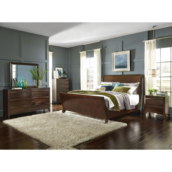 Steinhoff Sleigh Configurable Bedroom Set by Winston Porter