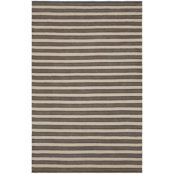 Jessia Brown/Tan Area Rug by Longshore Tides