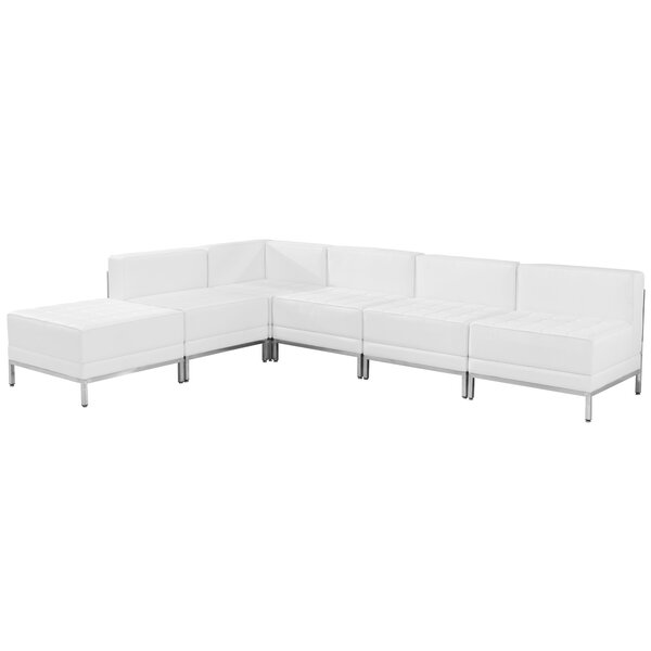 Sales Bouffard Reversible Sectional With Ottoman