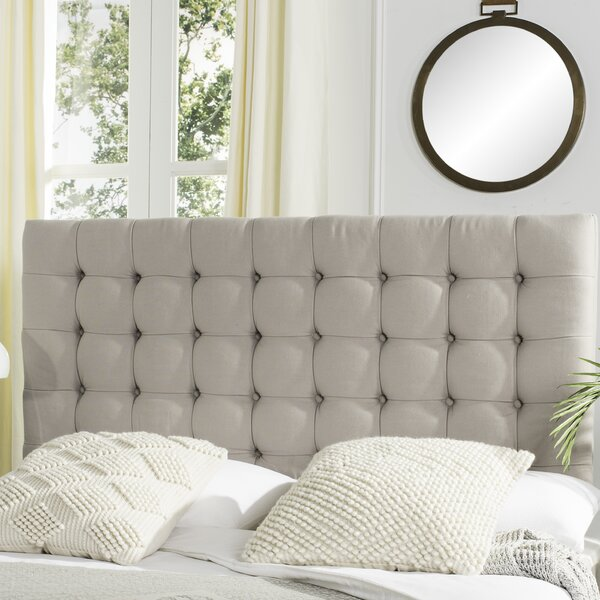 Fitch Upholstered Panel Headboard by Darby Home Co