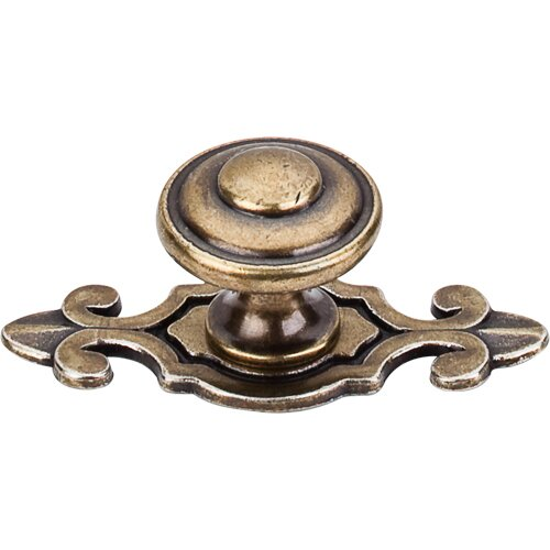 Britannia Canterbury Mushroom Knob by Top Knobs