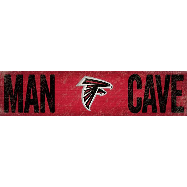 NFL Man Cave Sign Wall Décor by Fan Creations