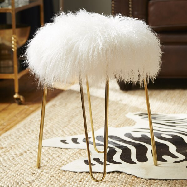 Siv Sheepskin Stool by Willa Arlo Interiors