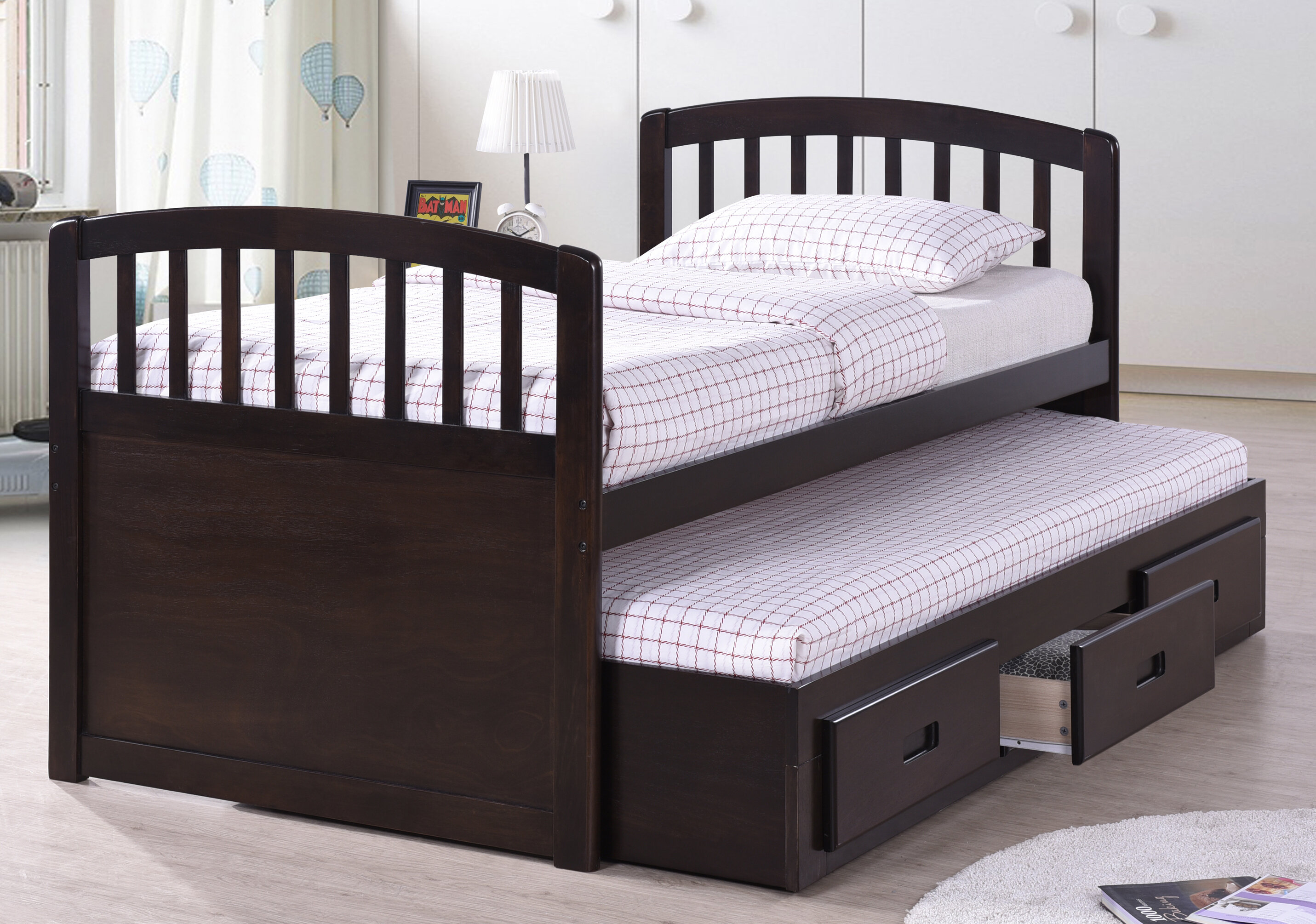 trundle bed beds brothers cisco linda products