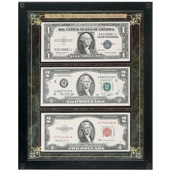 Andover Mills \'Historic U.S. Currency\' Framed Memorabilia & Reviews ...