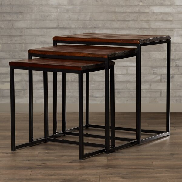 Pemberton 3 Piece Nesting Table by Trent Austin Design