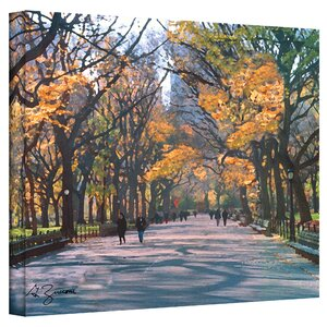 'Central Park' Painting Print on Canvas by Charlton Home