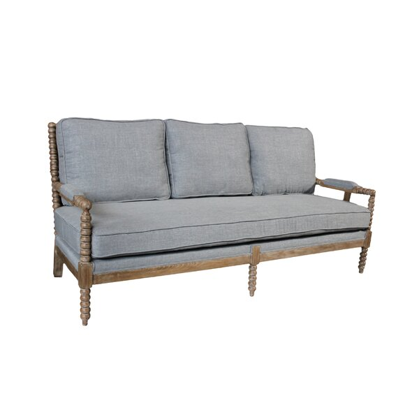 Discover Luxurious Janessa Linen Sofa by One Allium Way by One Allium Way