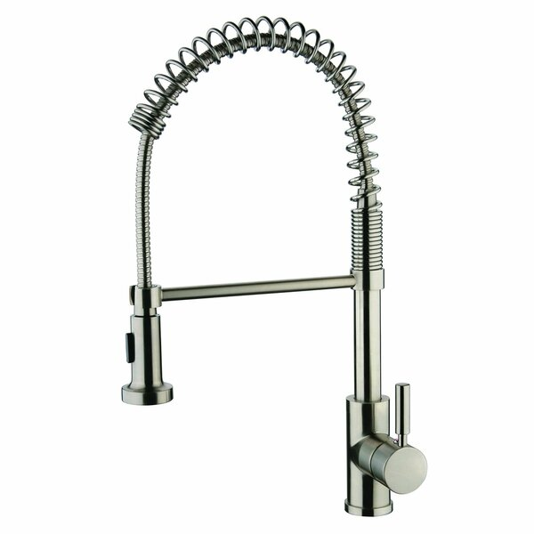 Pull Out Single Handle Kitchen Faucet by Y Decor