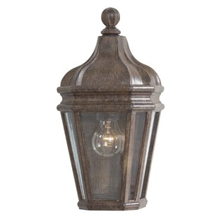 Read Reviews Harrison 1-Light Outdoor Flush Mount By Great Outdoors by Minka