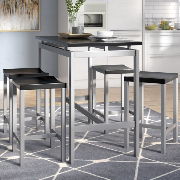 Mcgonigal 5 Piece Pub Table Set by Mercury Row