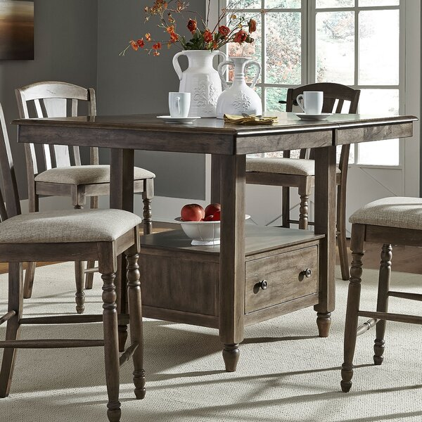 Perez Extendable Solid Wood Dining Table by Birch Lane Heritage Birch Lane™ Heritage
