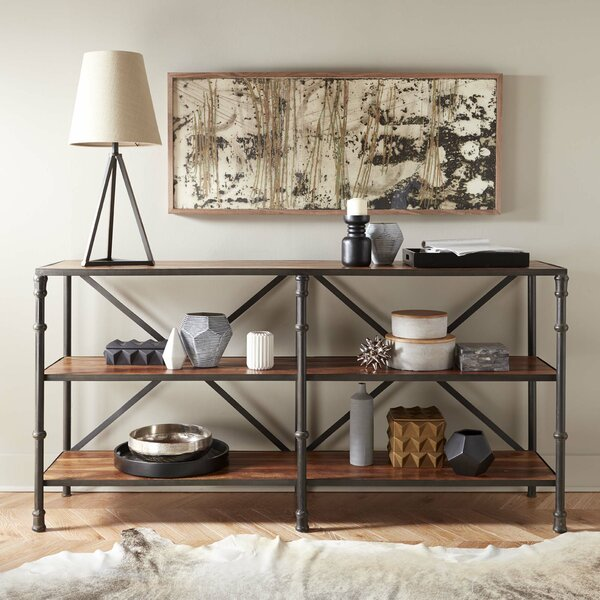 Batt Console Table by Williston Forge