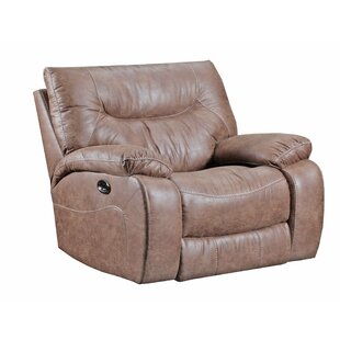 Simmons Upholstery El Capitan Power Cuddler Recliner Loon Peak