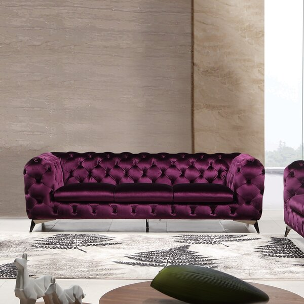 Binstead Chesterfield Sofa by Rosdorf Park