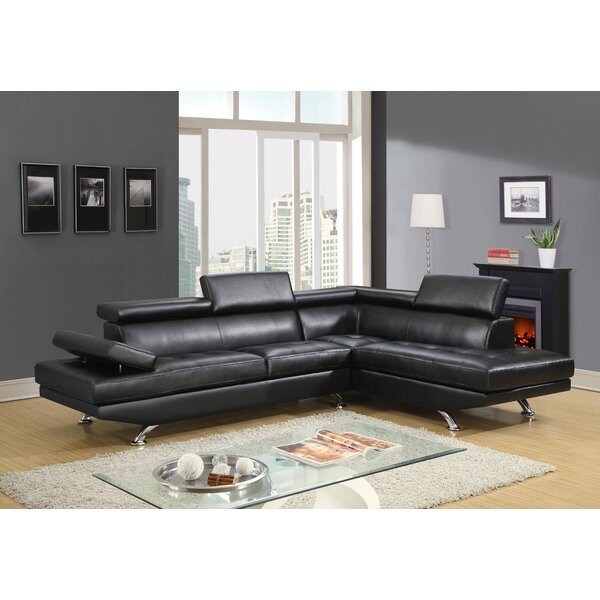 Shop A Great Selection Of Sylmar Right Hand Facing Sectional by Orren Ellis by Orren Ellis