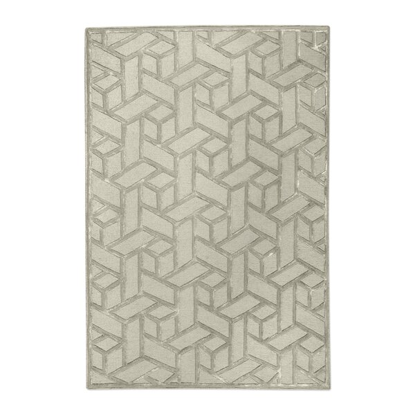 Netherton Hand-Tufted Wool Sand Area Rug by Brayden Studio