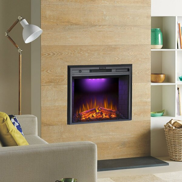 Hull Electric Fireplace Insert By Red Barrel Studio