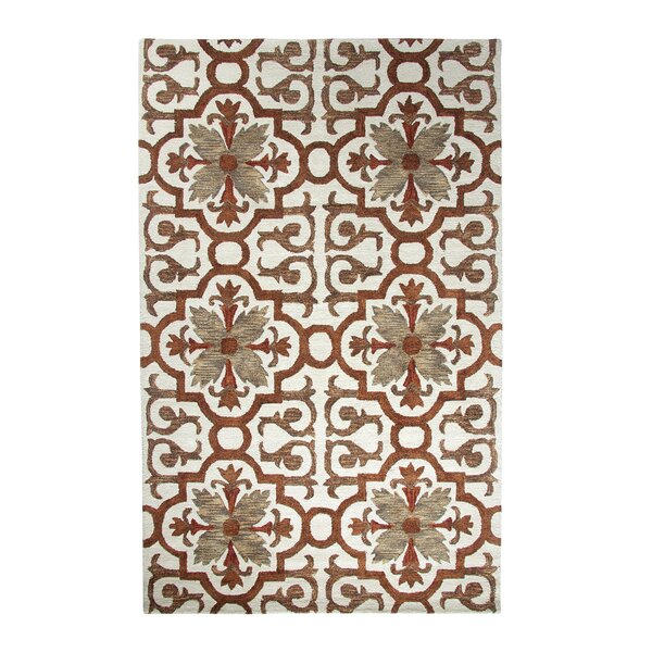 Casual Rust Area Rug by Dynamic Rugs