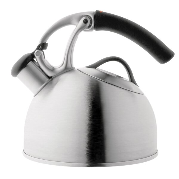 Good Grips 2 Quart Stainless Steel Uplift Tea Kettle by OXO