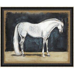 86fcef5ab0c  Equestrian Studies V  Framed Painting Print