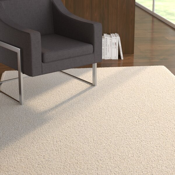 Stoffel Ivory Area Rug by Ebern Designs