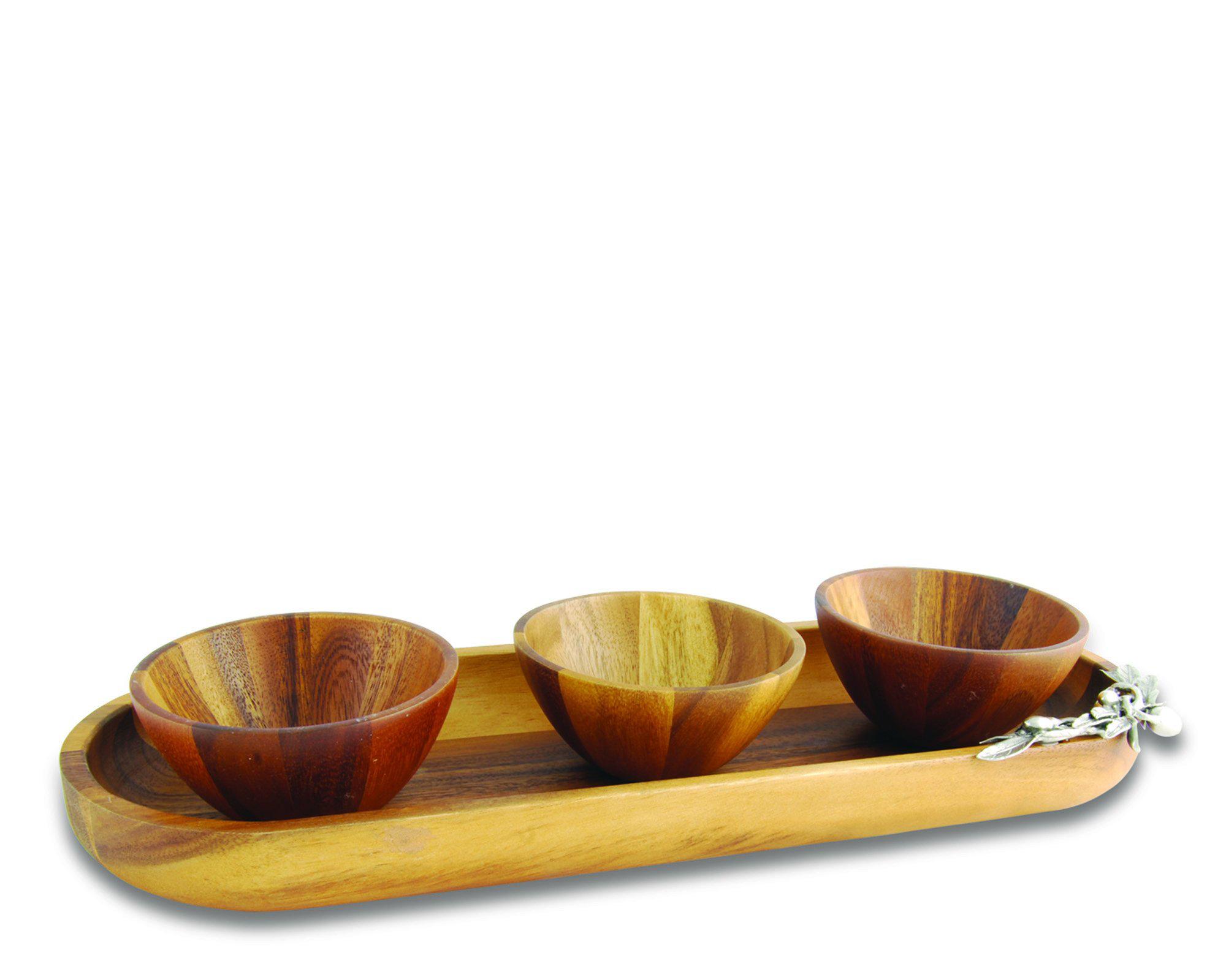 Vagabond House Steel Single Serving Olive Bowl