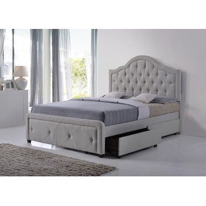 bradcliff upholstered storage panel bed