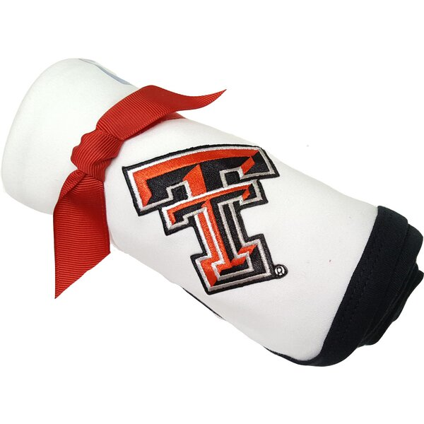 Texas Tech Red Raiders Baby Receiving Blanket by Future Tailgater
