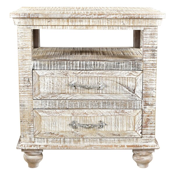 Cummings 2 Drawer Nightstand by Loon Peak