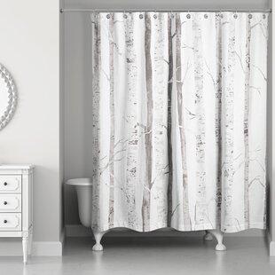 Bain Birch Trees Shower Curtain