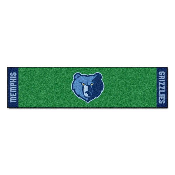 NBA - Memphis Grizzlies Putting Green Doormat by FANMATS