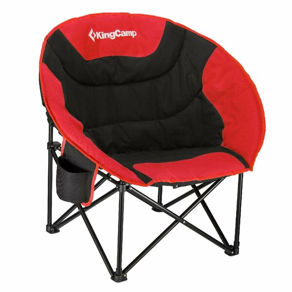 Moon Saucer Folding Camping Chair with Carry Bag by Kingcamp