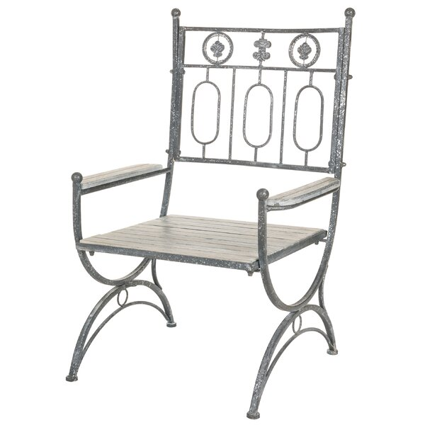 Patricia Patio Dining Chair by Rosalind Wheeler