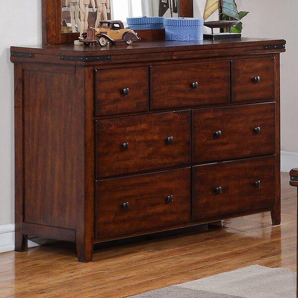 Nashoba 7 Drawer Dresser By Loon Peak by Loon Peak Great Reviews