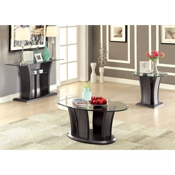Pettegrow 3 Piece Coffee Table Set by Latitude Run Latitude Run