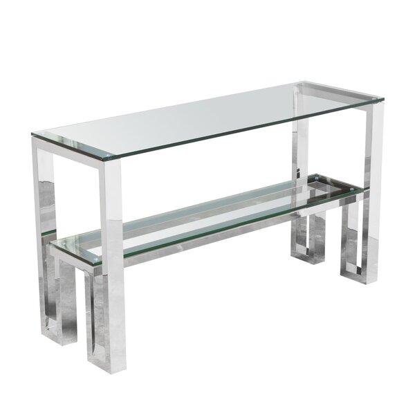 Diamond Sofa Glass Console Tables